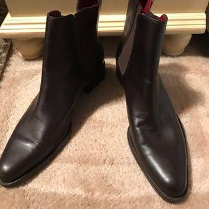 Ralph Lauren Shoes - Ralph Lauren brown leather boots